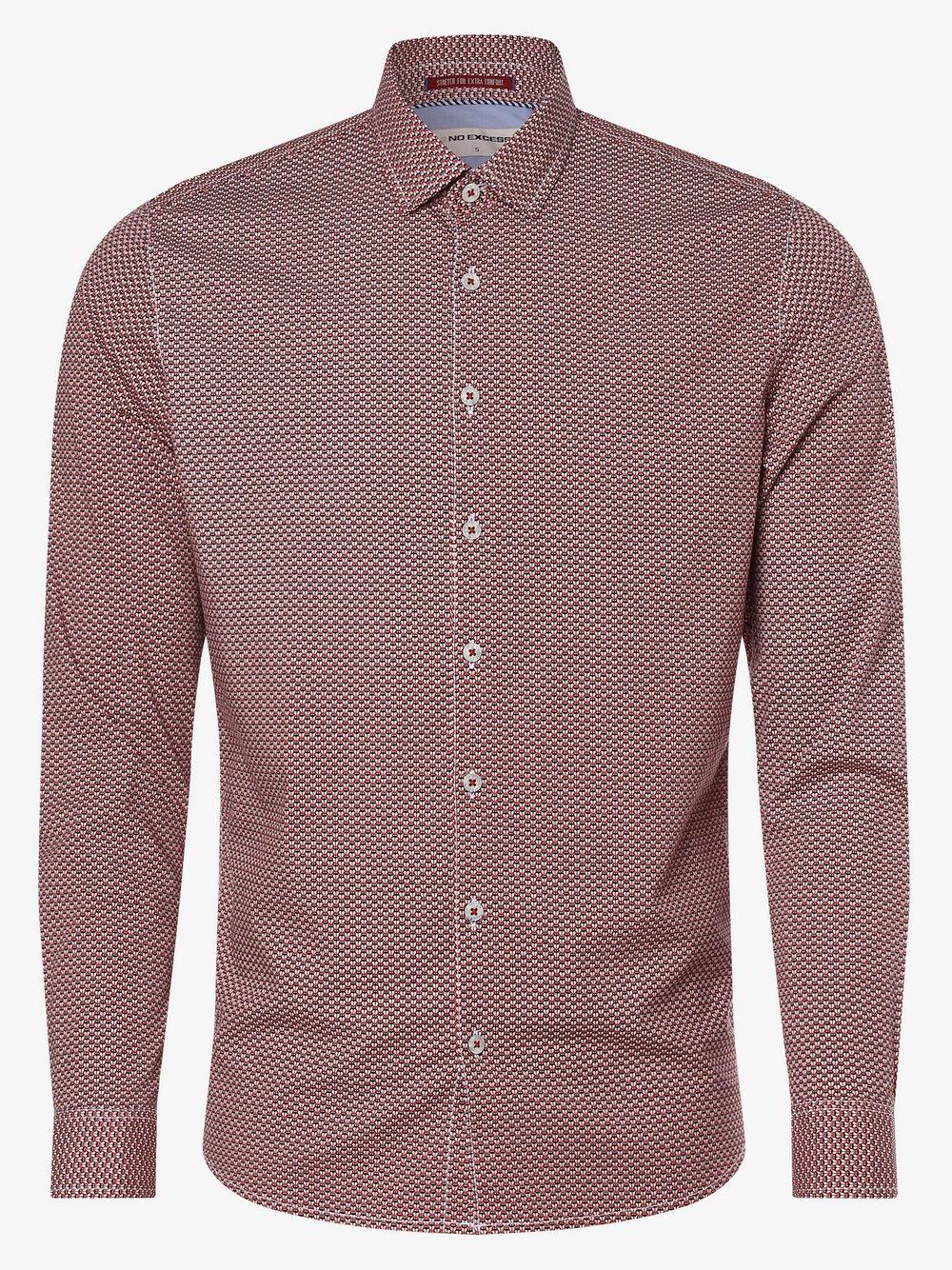No Excess – Koszula męska, czerwony Van Graaf 466989-0001