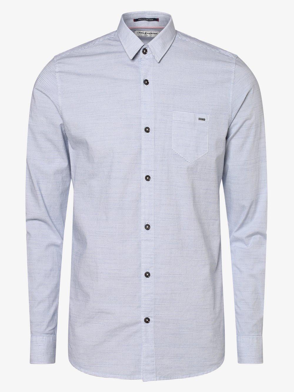 No Excess – Koszula męska, biały Van Graaf 466990-0001