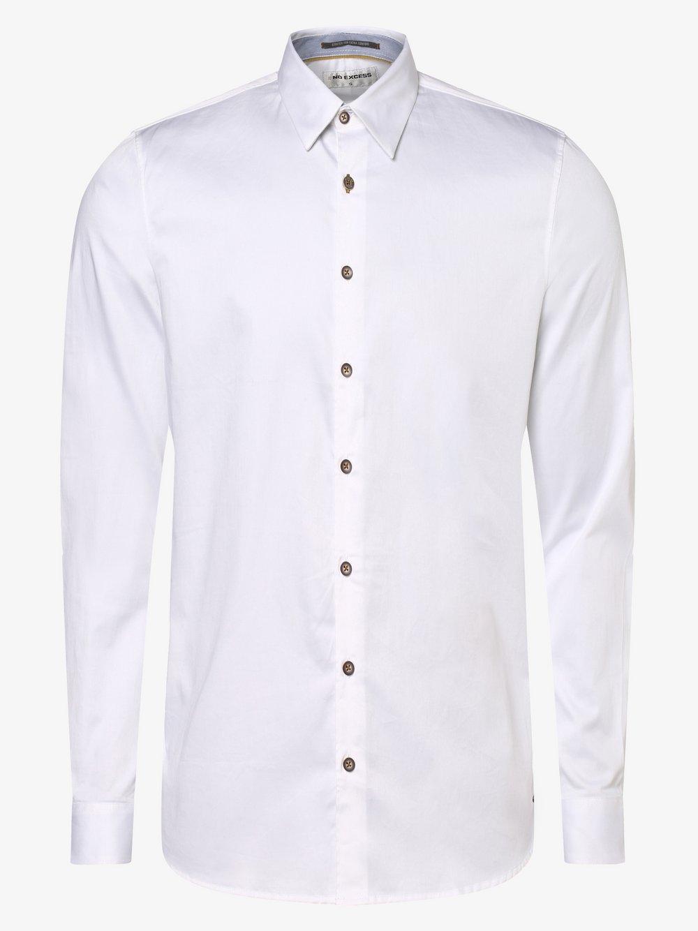 No Excess – Koszula męska, biały Van Graaf 466992-0001
