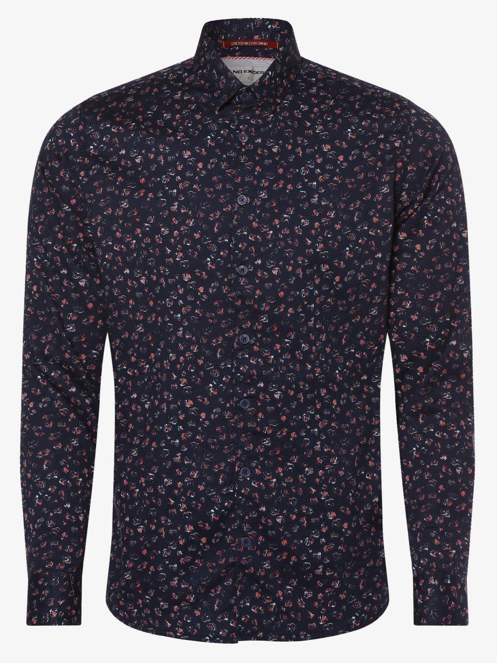 No Excess – Koszula męska, niebieski Van Graaf 466995-0001-09920