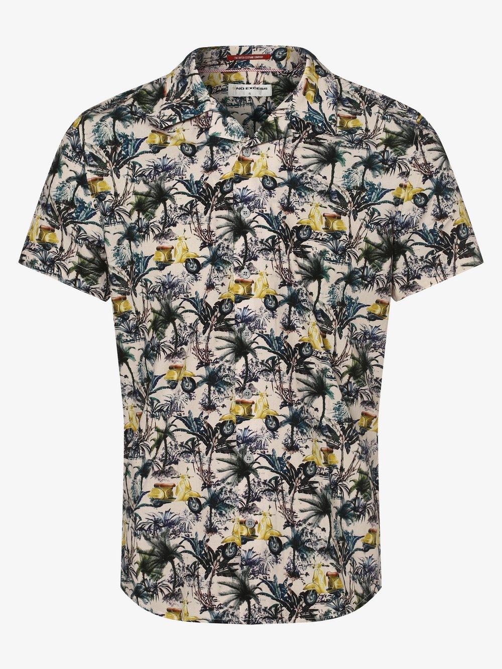 No Excess – Koszula męska, żółty Van Graaf 467000-0002
