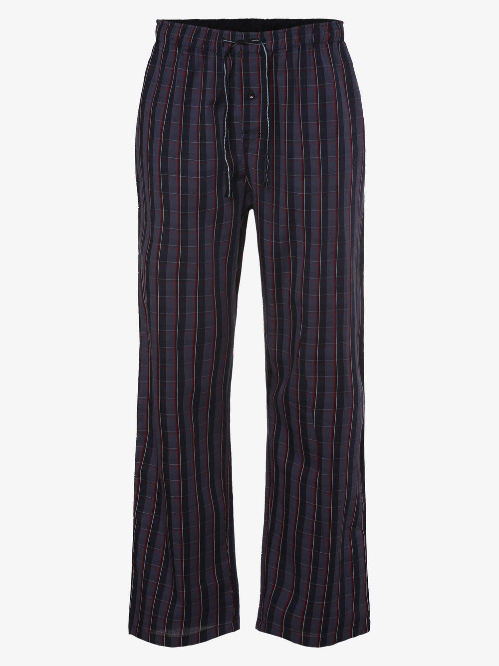 Mc Earl - Męskie spodnie od piżamy, niebieski