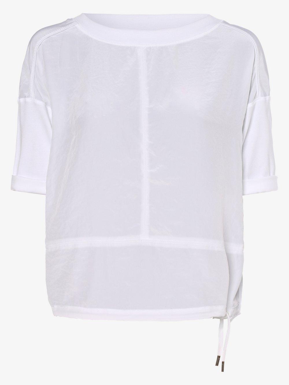 Marc Cain Sports – Koszulka damska, biały Van Graaf 467070-0003-00360