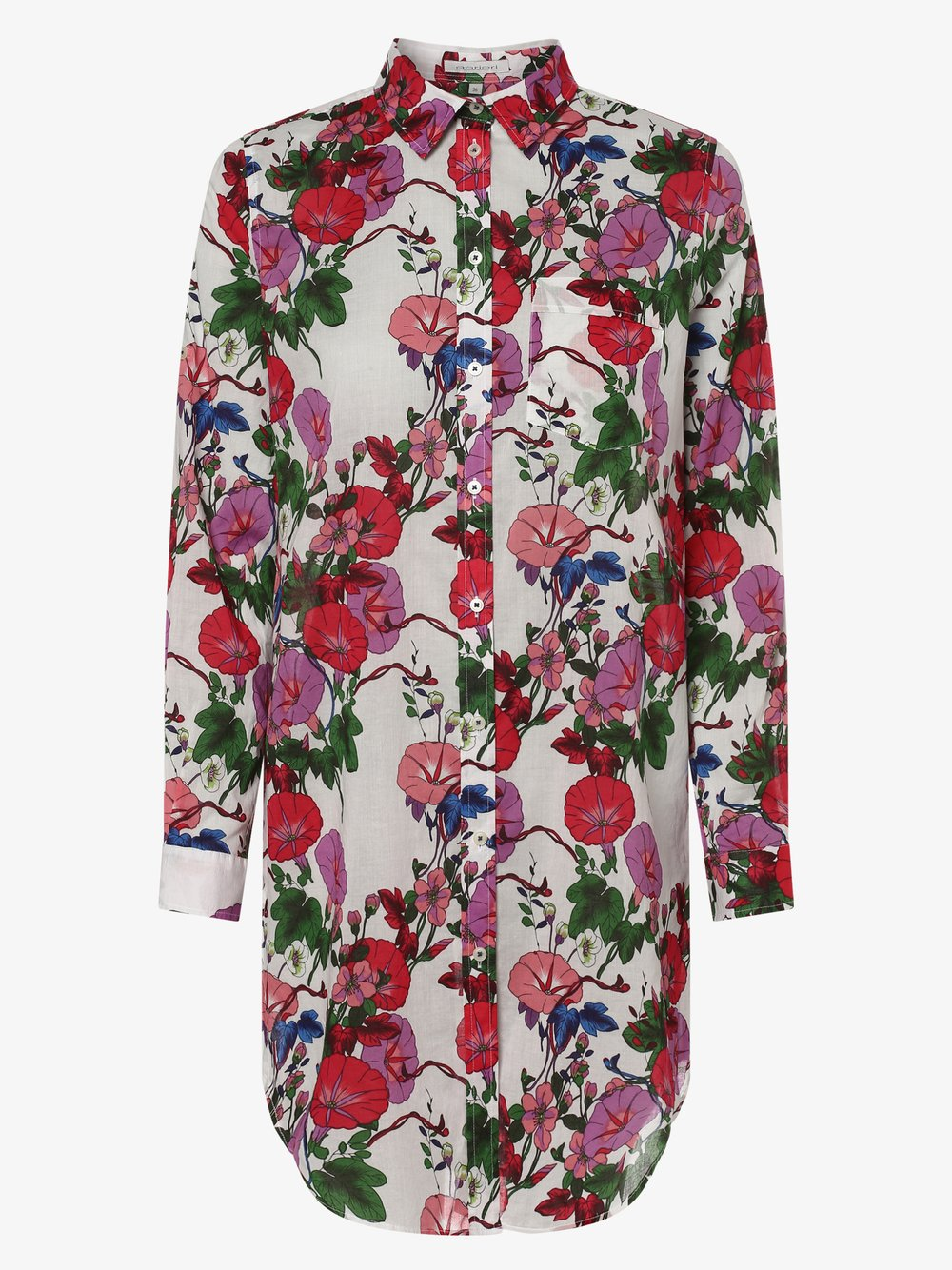 Apriori – Bluzka damska, biały Van Graaf 467092-0001