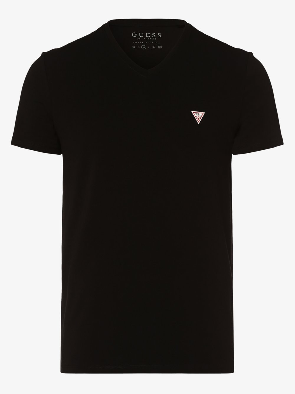 GUESS - T-shirt męski, czarny