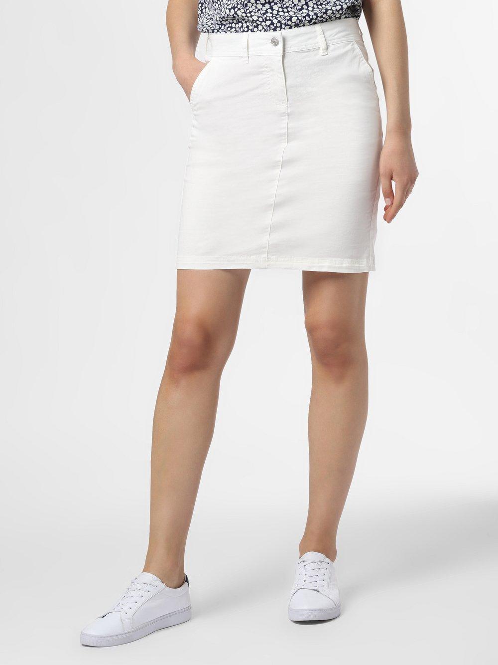 Marie Lund - Spódnica damska, biały