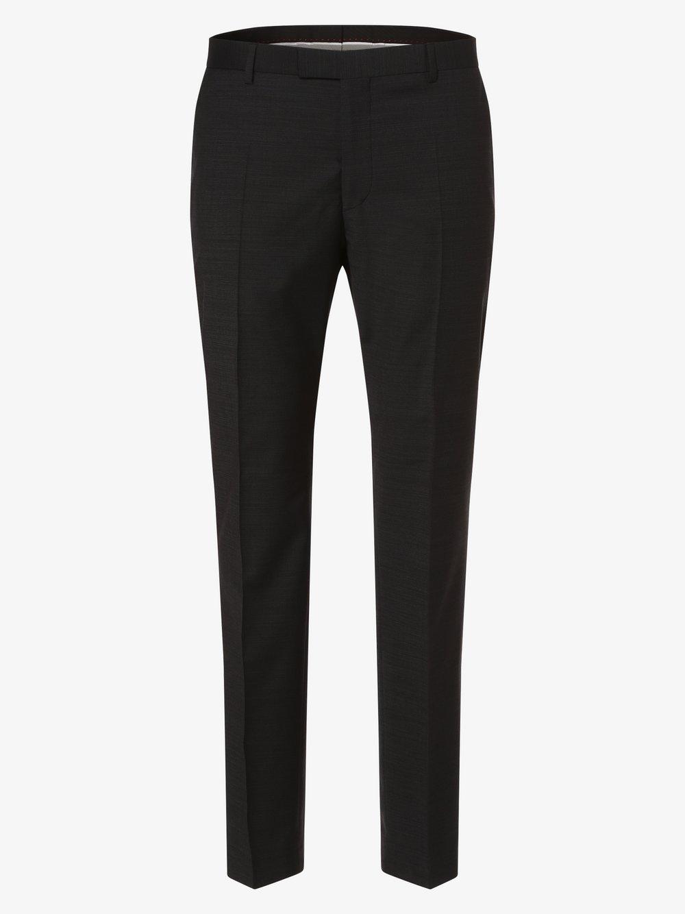 Strellson - Męskie spodnie od garnituru modułowego – Mercer2.0, czarny