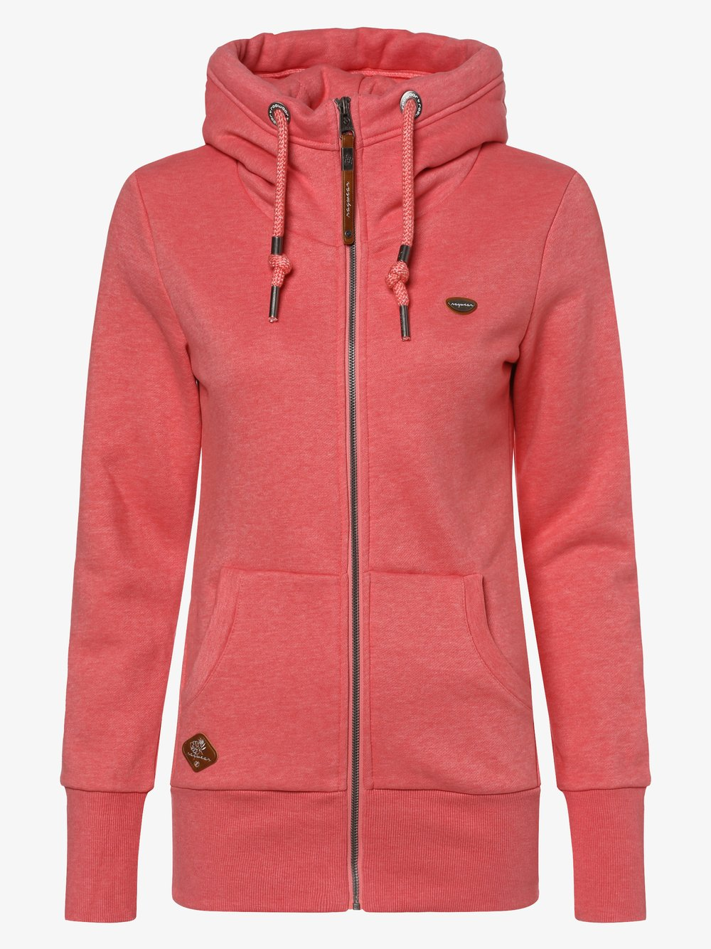 Ragwear - Damska bluza rozpinana – Neska Zip, różowy