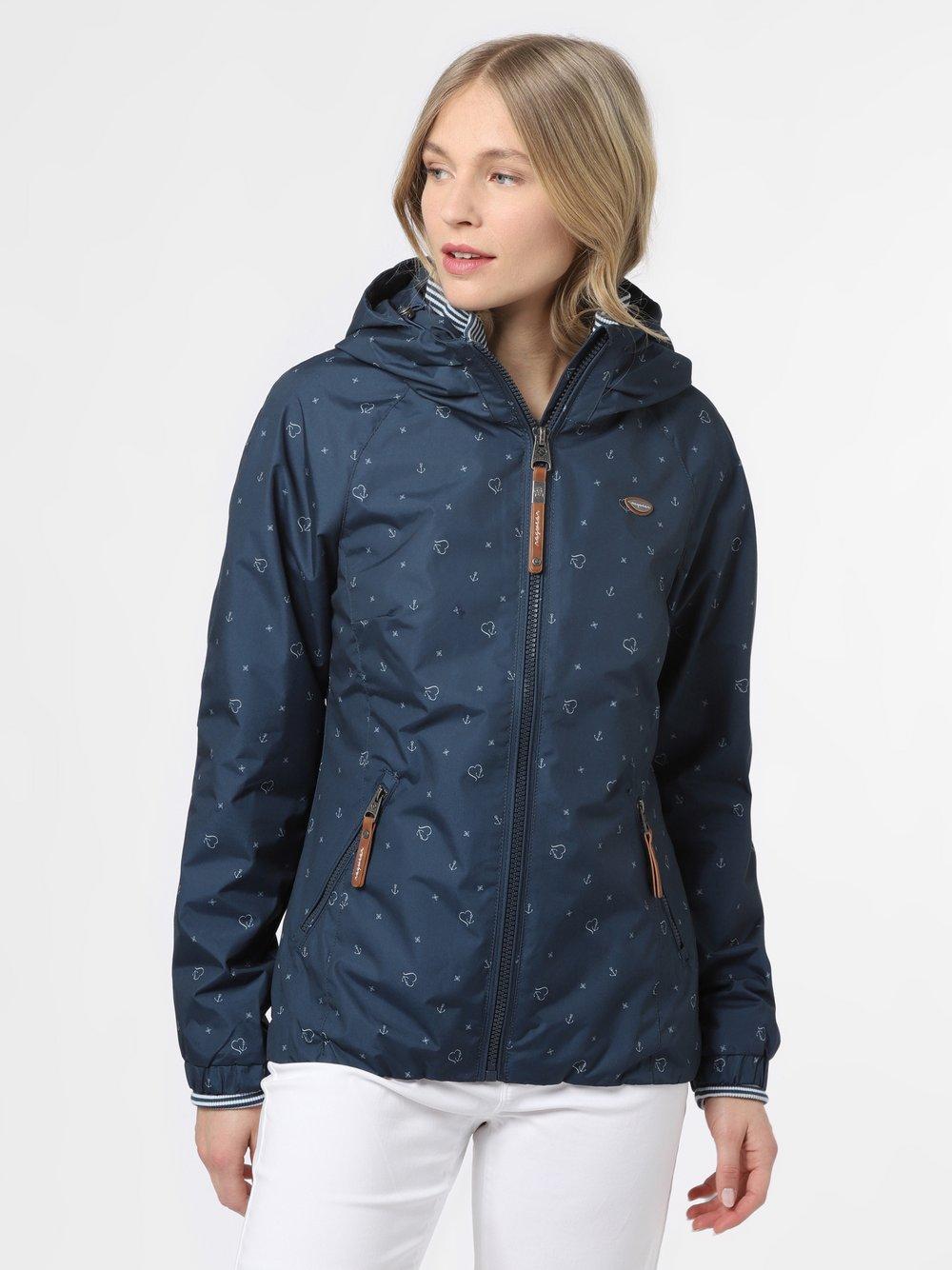 Ragwear – Kurtka damska – Dizzie Marina, niebieski Van Graaf 467422-0001-09900