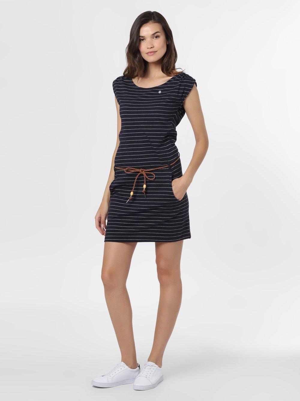 Ragwear – Sukienka damska – Chego, niebieski Van Graaf 467433-0001-09900
