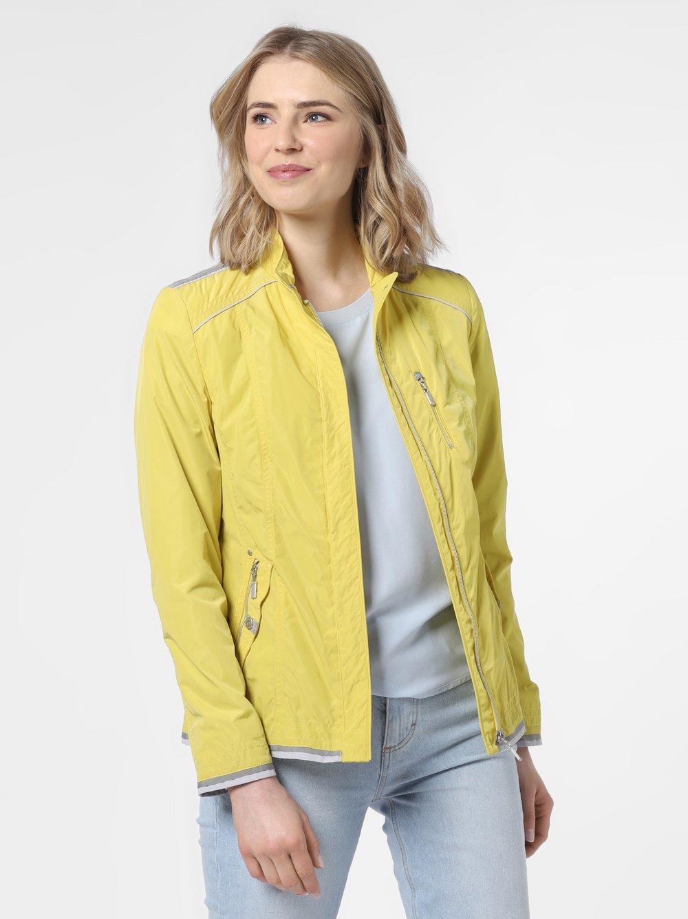Lebek - Kurtka damska, żółty