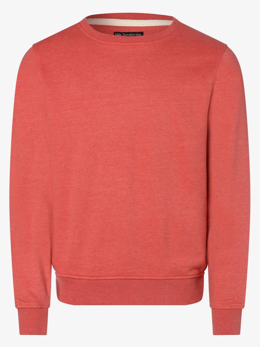 Nils Sundström - Męska bluza nierozpinana, czerwony