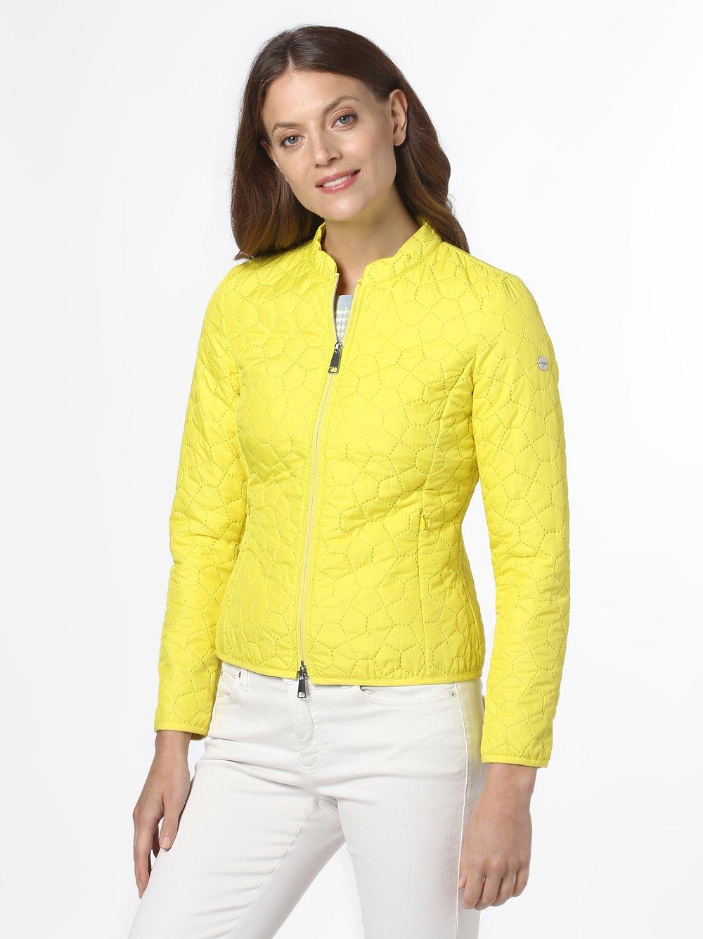 Taifun – Damska kurtka pikowana, żółty Van Graaf 467885-0001