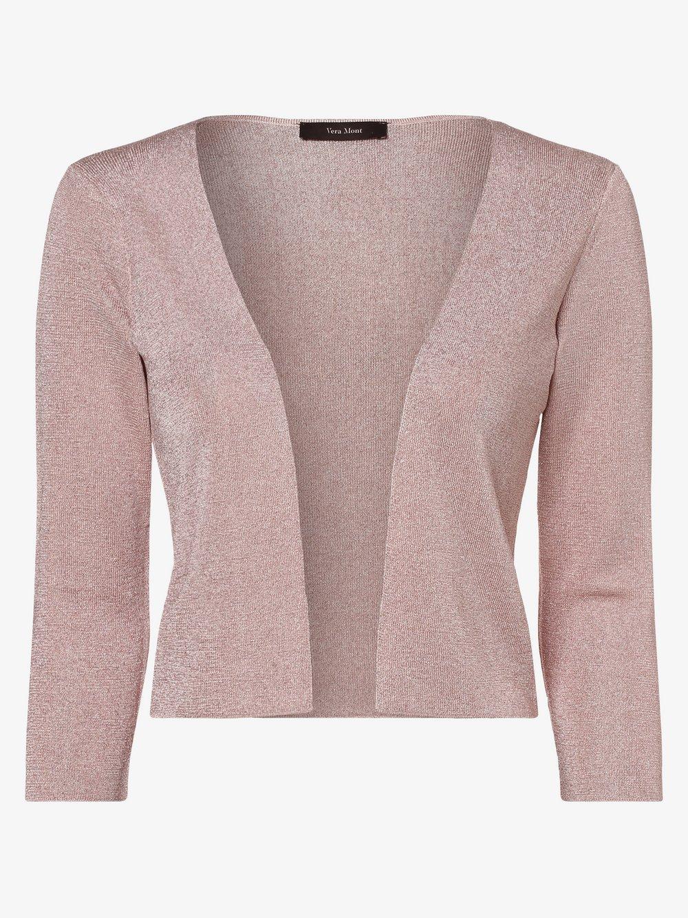 Vera Mont Collection – Bolerko damskie, różowy Van Graaf 467937-0001