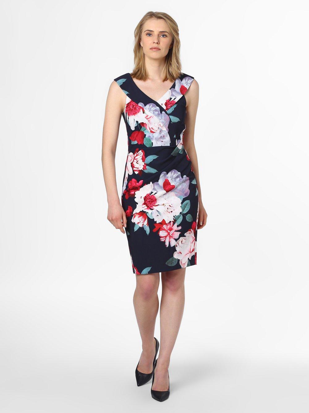 Vera Mont Collection – Sukienka damska, niebieski Van Graaf 467939-0001
