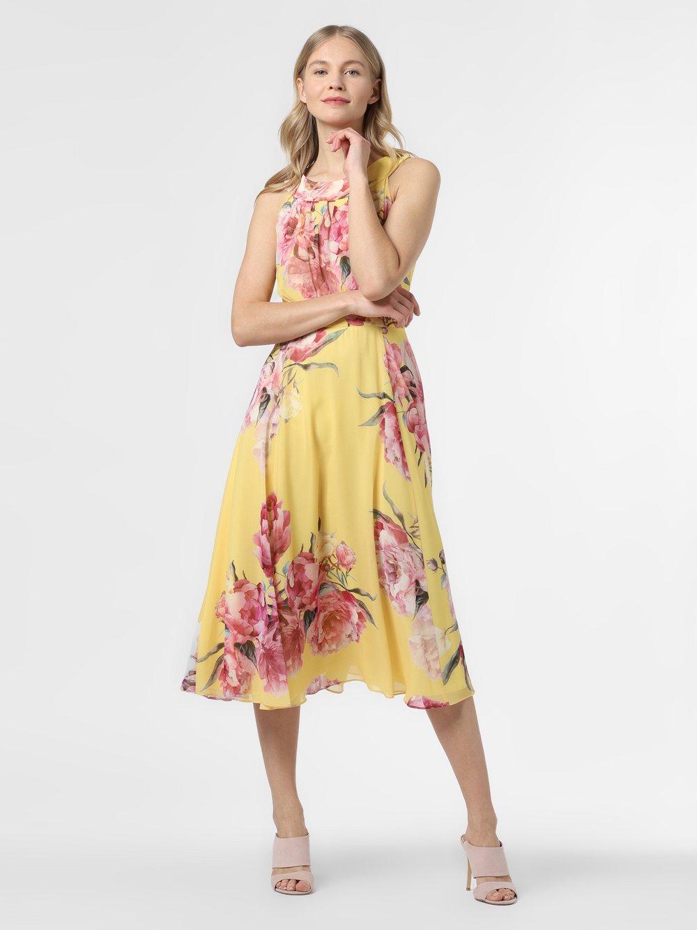 Vera Mont Collection – Sukienka damska, żółty Van Graaf 467942-0001-00440