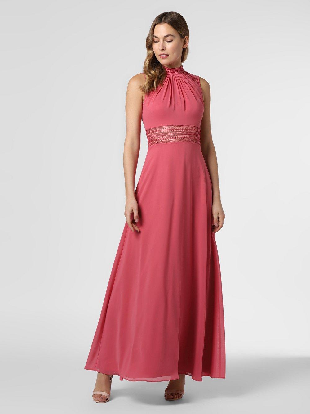 VM – Damska sukienka wieczorowa, czerwony Van Graaf 468015-0001-00360