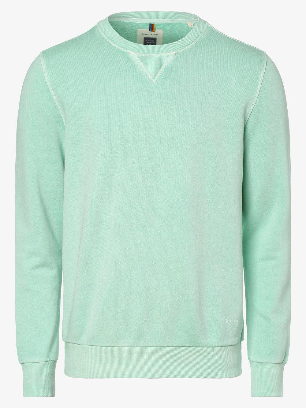 Marc O'Polo - Męska bluza nierozpinana, zielony
