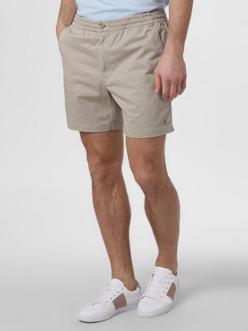 Polo Ralph Lauren - Spodenki męskie – Stretch Classic Fit, zielony