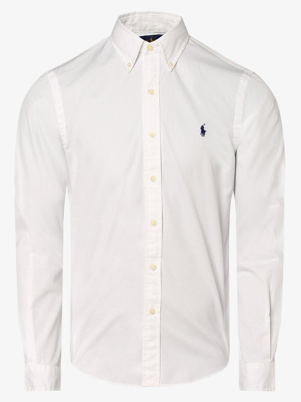 Polo Ralph Lauren - Koszula męska – Slim Fit, biały