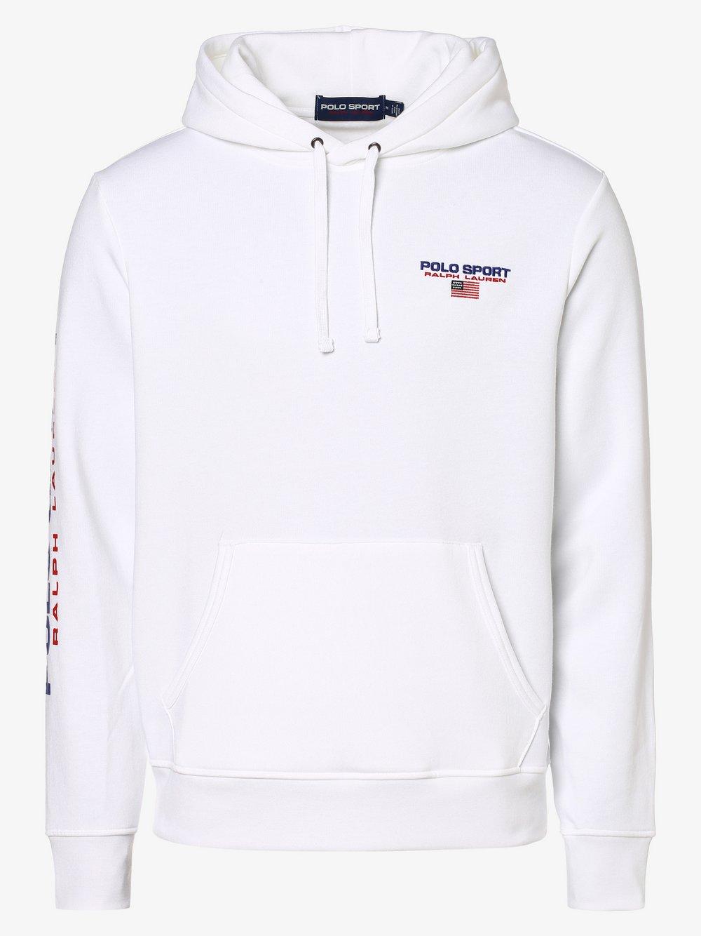 Polo Ralph Lauren - Męska bluza nierozpinana, biały