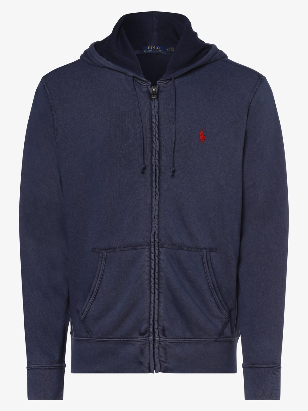 Polo Ralph Lauren - Męska bluza rozpinana, niebieski