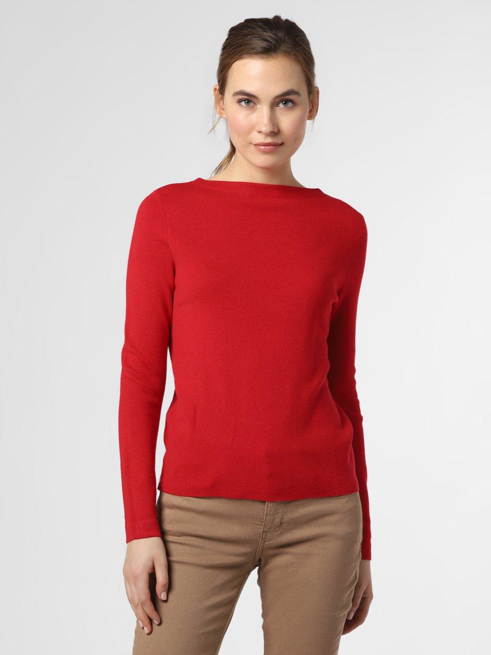 Marie Lund - Sweter damski, czerwony