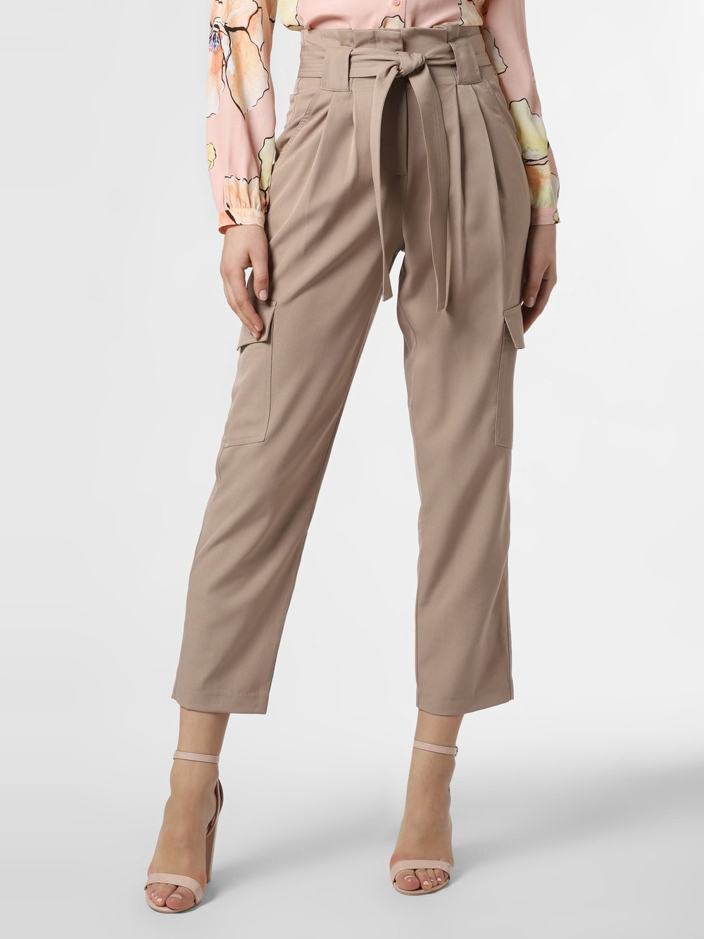 Y.A.S – Spodnie damskie – Yascairo, beżowy Van Graaf 469158-0001-09920