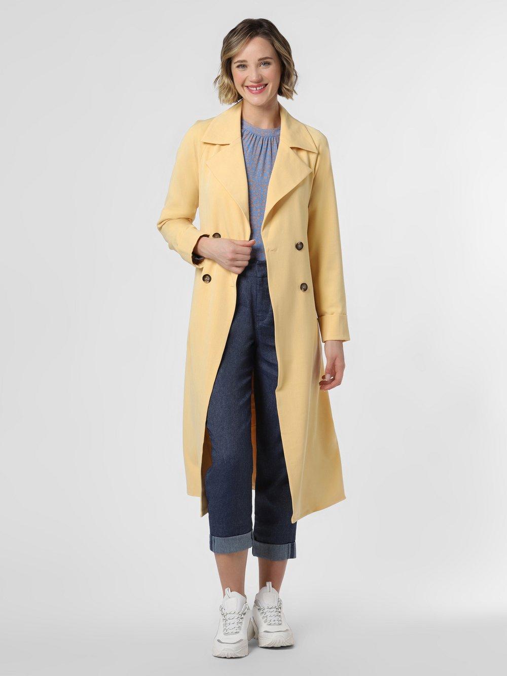 Y.A.S - Płaszcz damski – Yasclarina, żółty