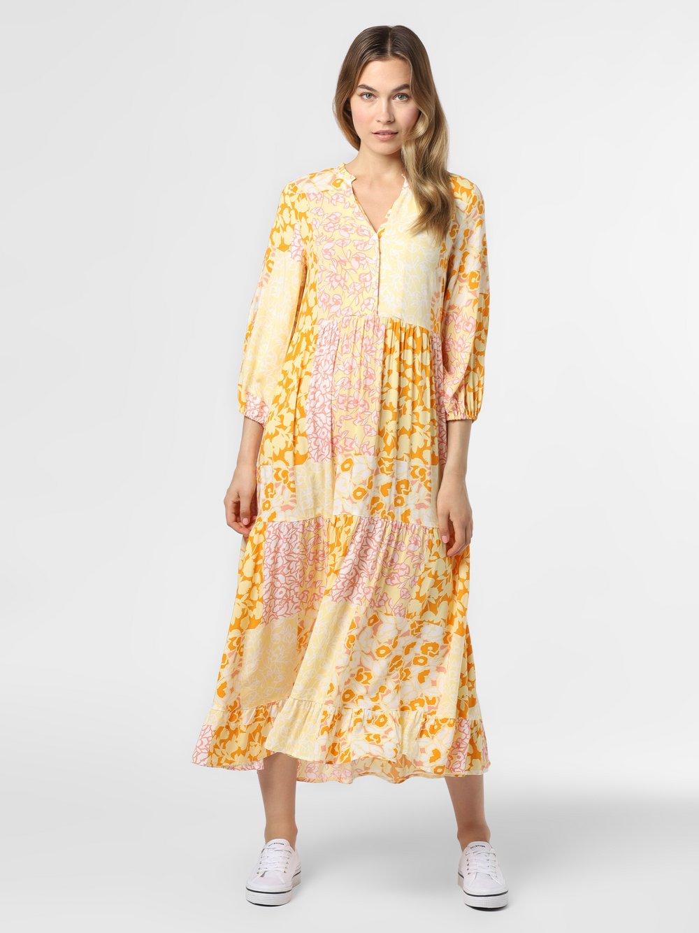 Y.A.S – Sukienka damska – YASPatcha, żółty Van Graaf 469184-0001-09960