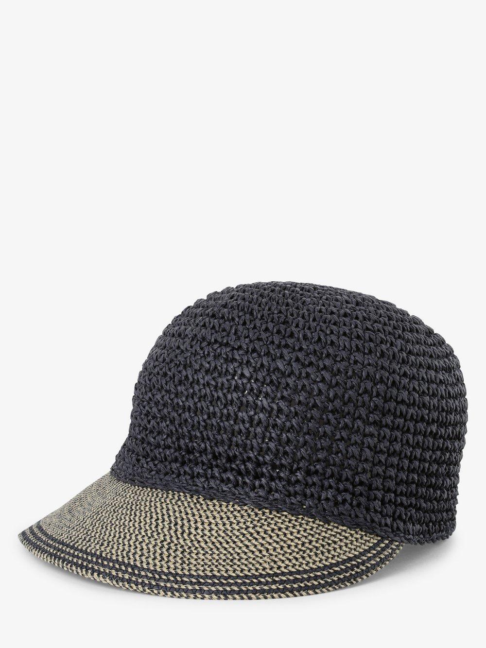 Loevenich – Damska czapka z daszkiem, niebieski Van Graaf 469319-0002-00000