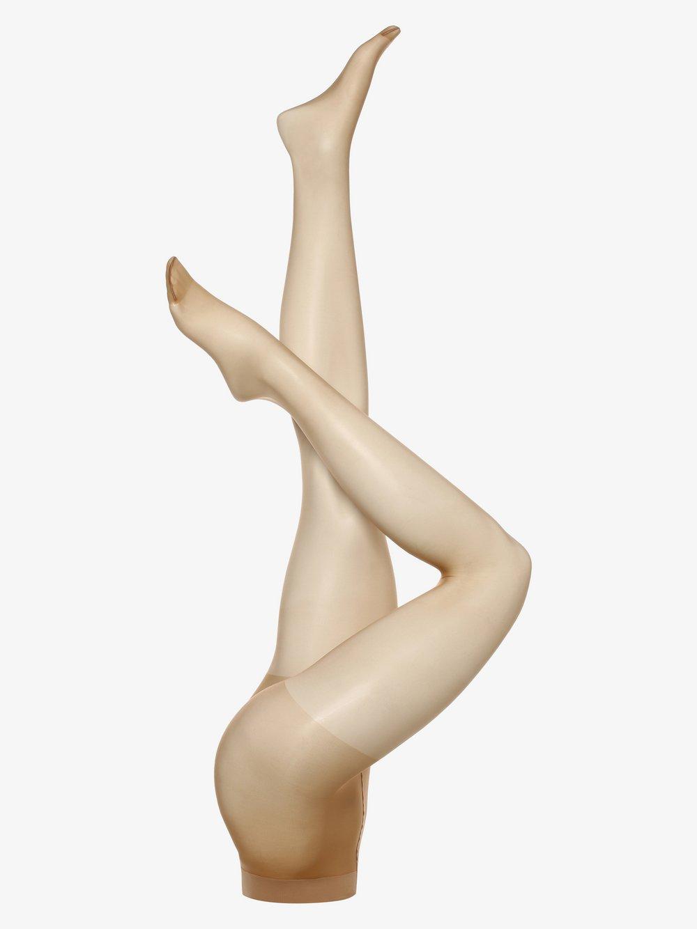 FALKE - Rajstopy damskie – Invisible Deluxe 8den, brązowy