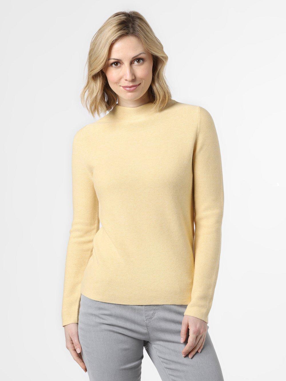 Franco Callegari - Sweter damski, żółty