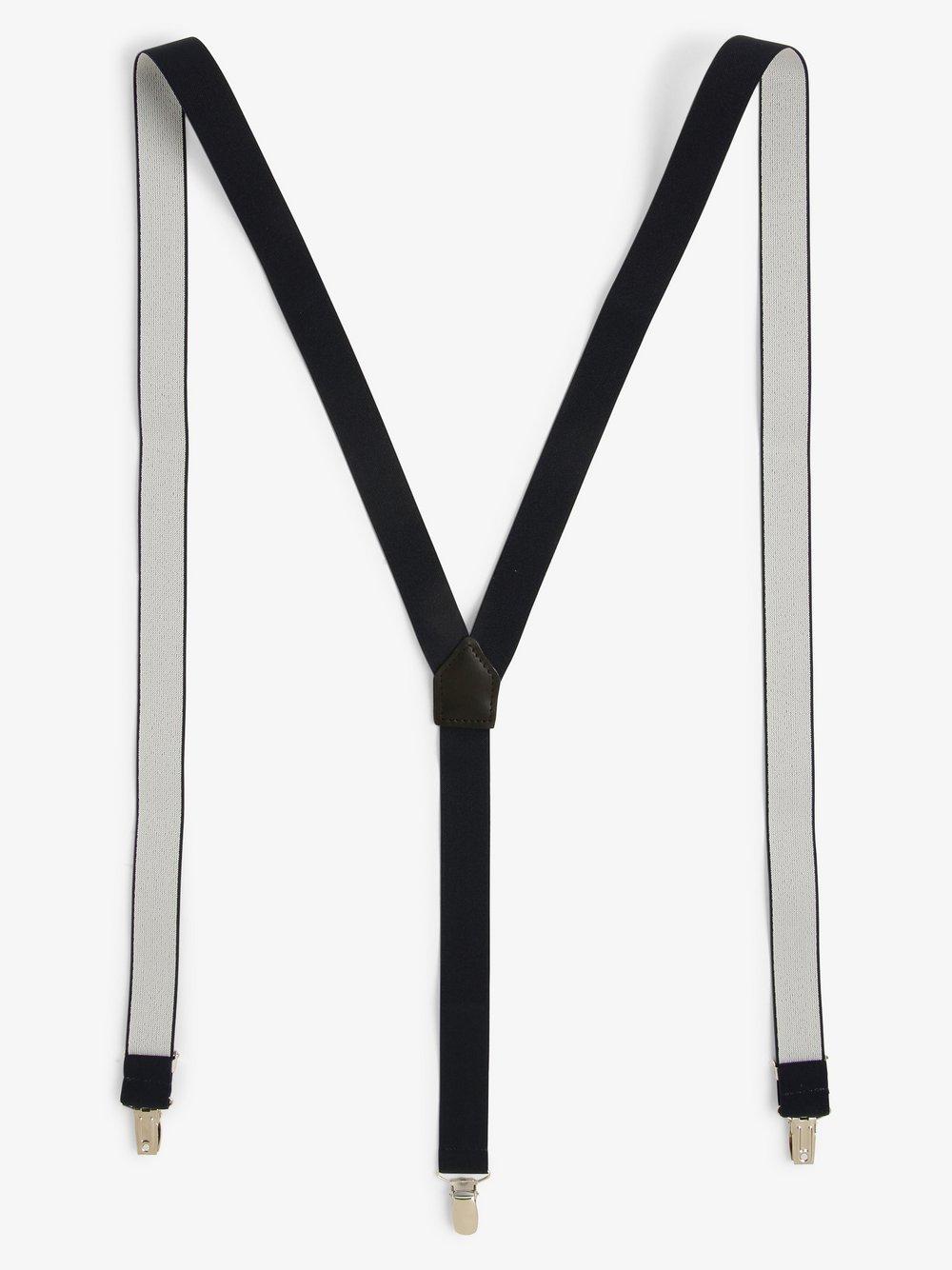 Finshley & Harding London – Szelki męskie, niebieski Van Graaf 469452-0001