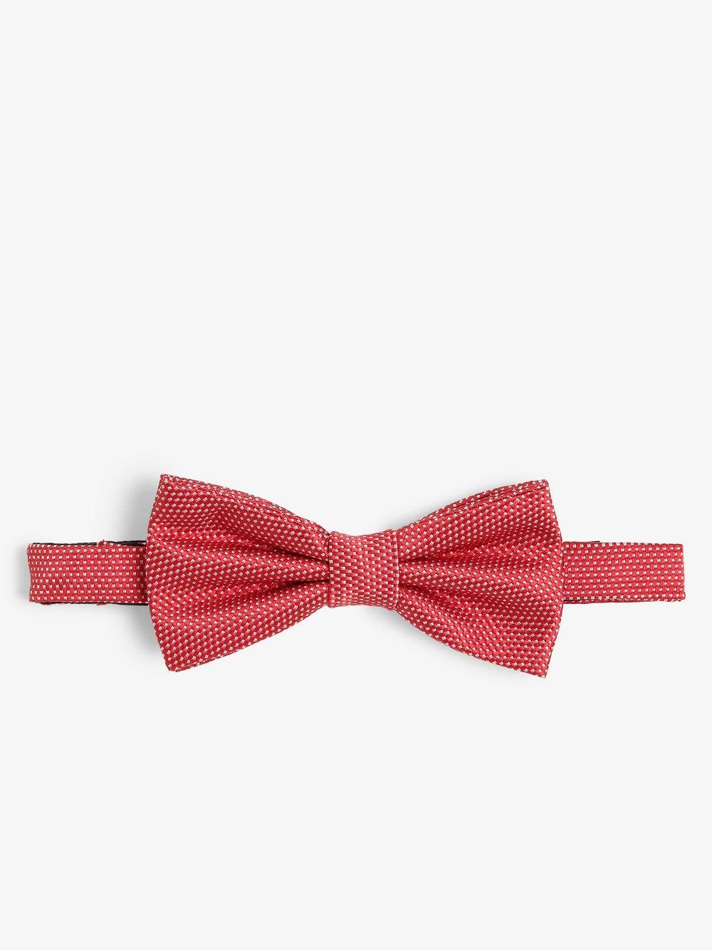 Finshley & Harding London – Muszka męska z jedwabiu, czerwony Van Graaf 469701-0001-00000