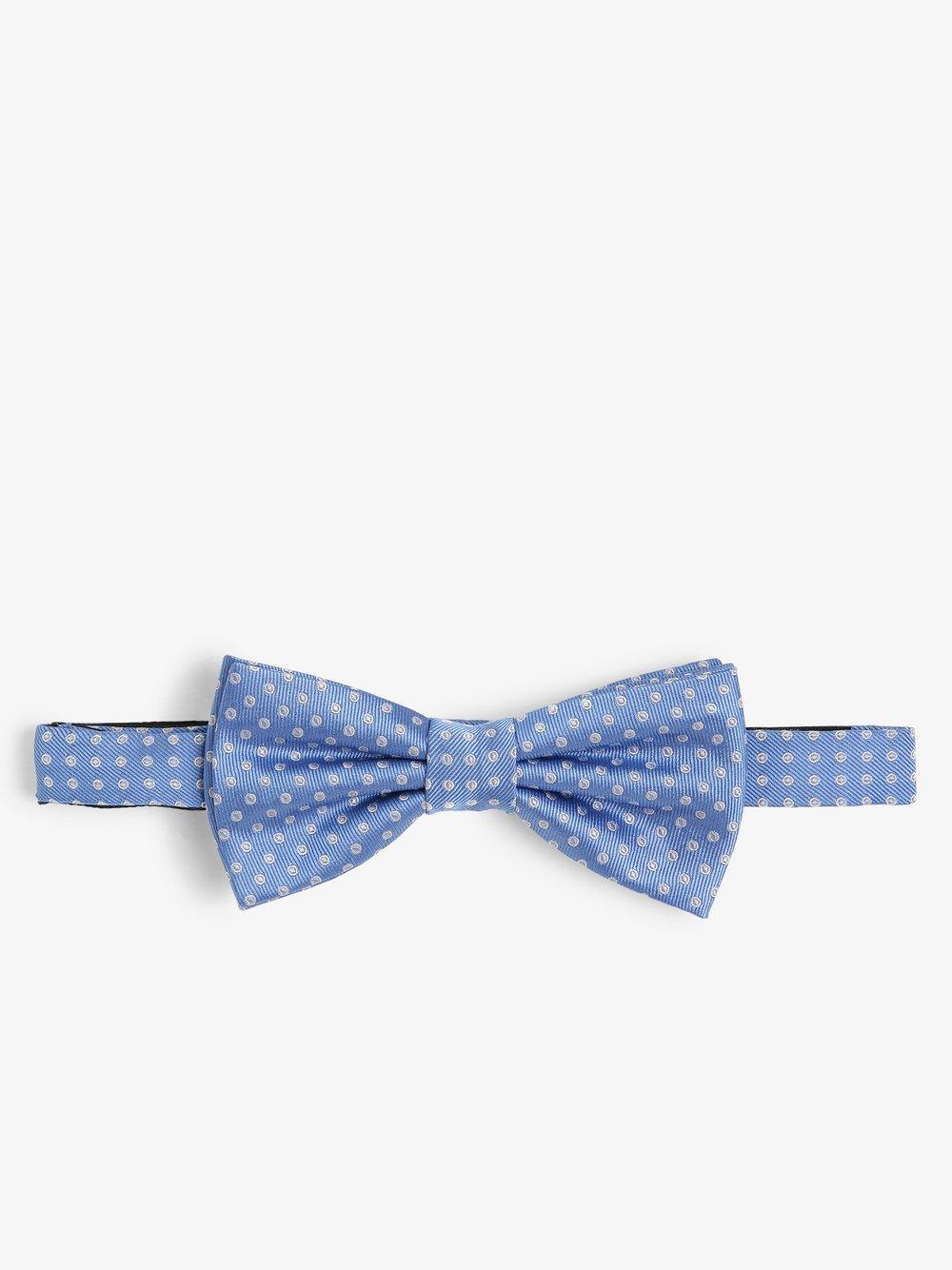 Finshley & Harding London – Muszka męska z jedwabiu, niebieski Van Graaf 469703-0001-00000