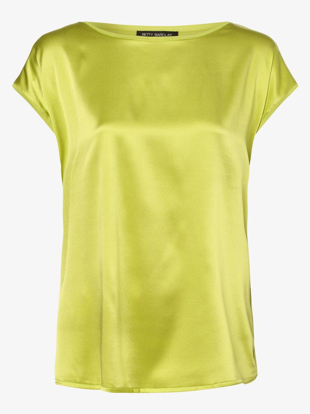Betty Barclay – Koszulka damska z dodatkiem jedwabiu, żółty Van Graaf 469753-0002