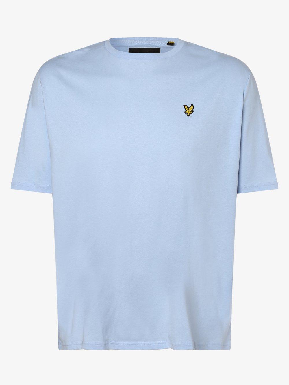 Lyle & Scott – T-shirt męski, niebieski Van Graaf 469804-0004