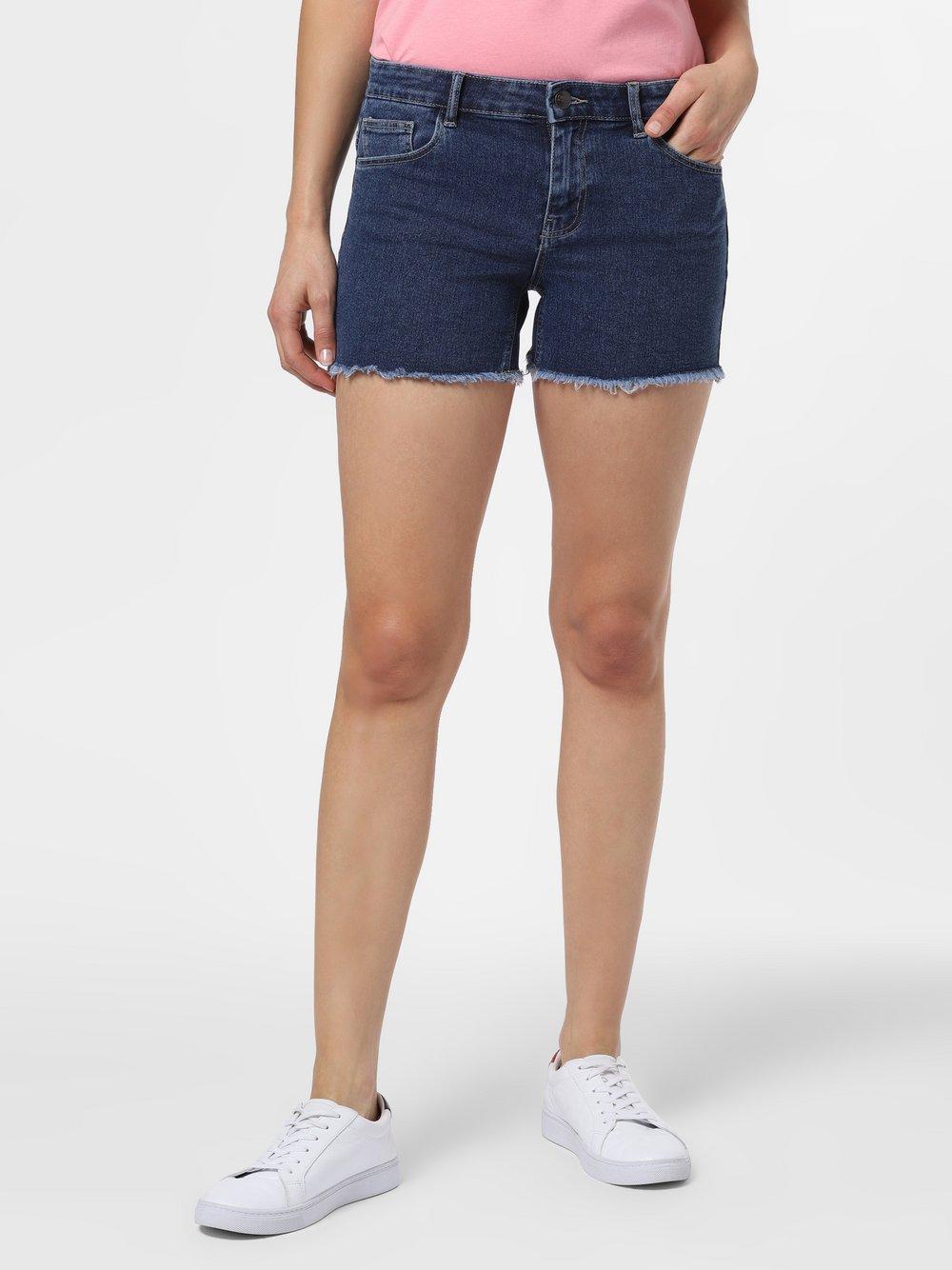 ONLY - Damskie krótkie spodenki jeansowe – ONLSun, niebieski