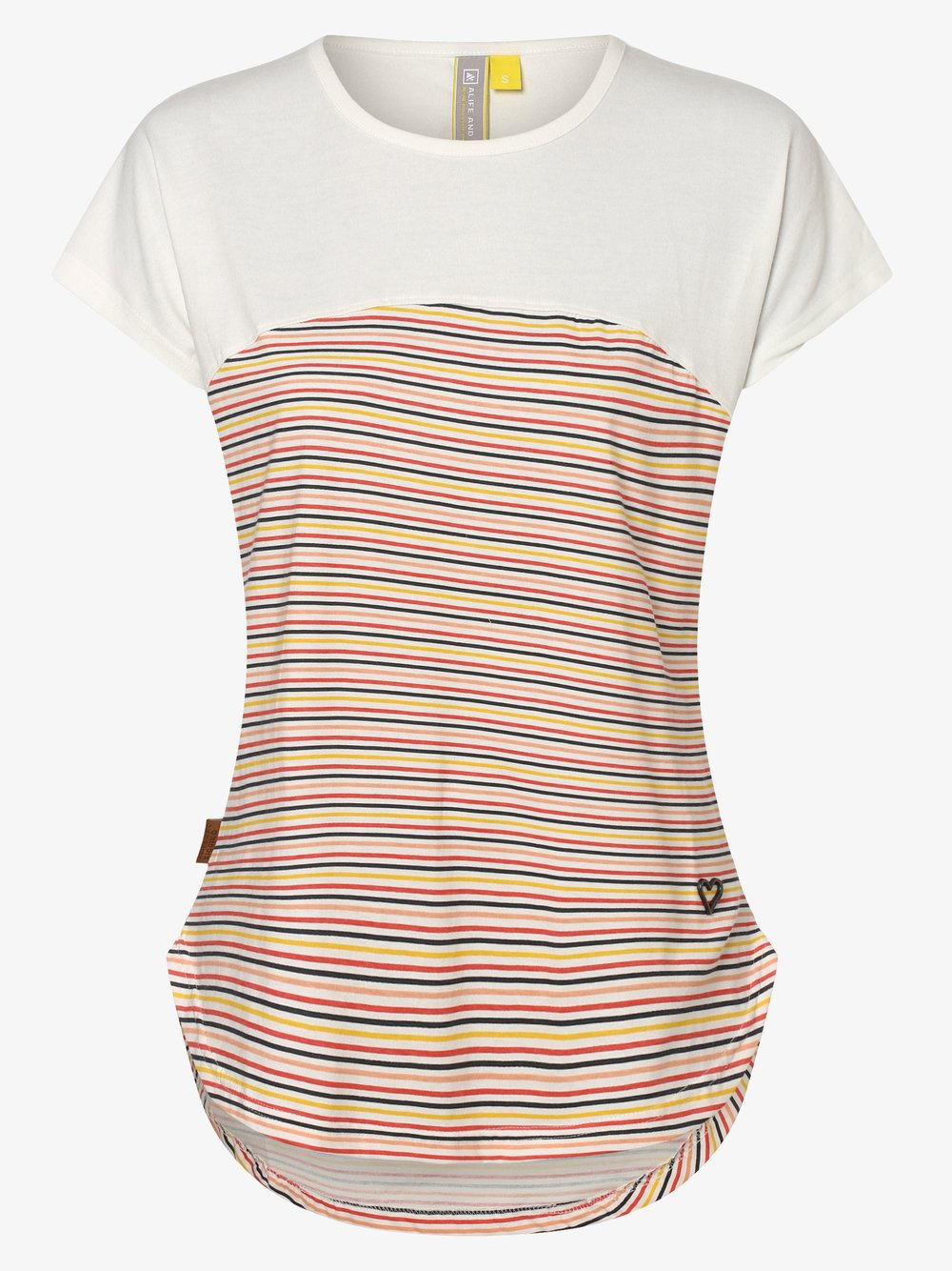 alife and kickin – T-shirt damski – Claire, biały Van Graaf 469842-0001