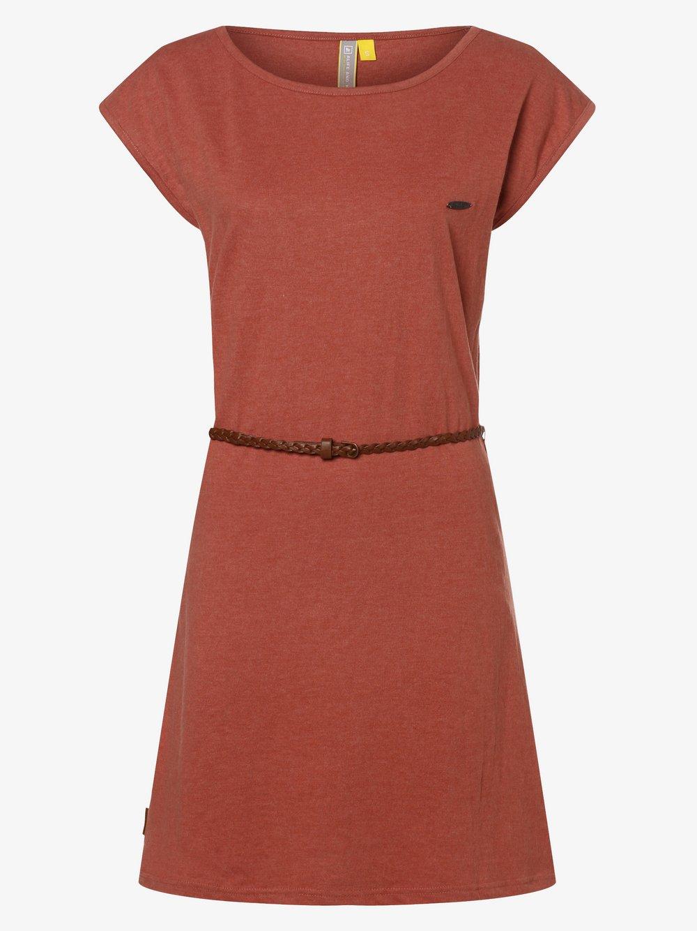 alife and kickin – Sukienka damska – Elli, żółty Van Graaf 469860-0001-09940
