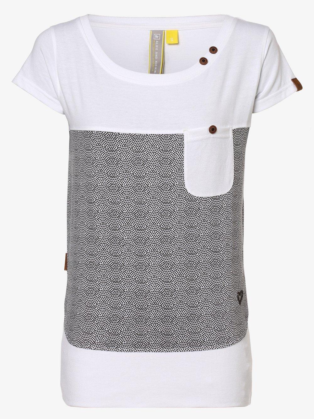 alife and kickin - T-shirt damski – Cora, biały