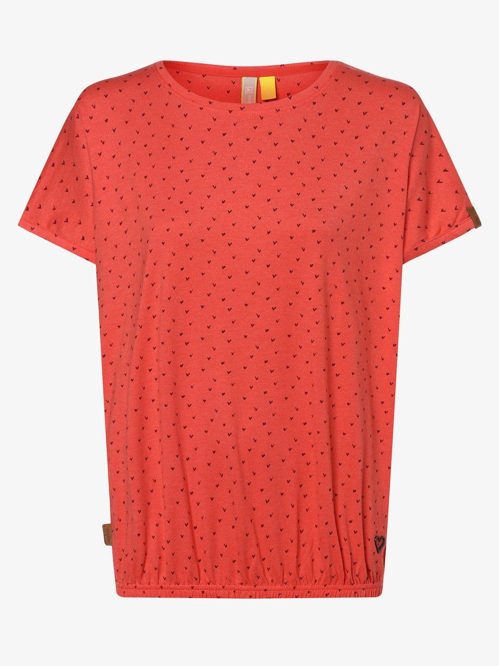 alife and kickin - T-shirt damski – Sun, czerwony
