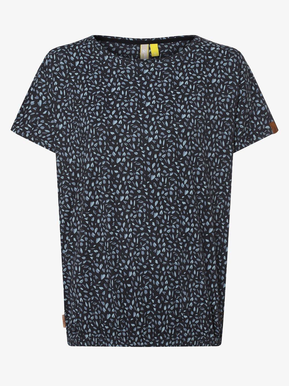 alife and kickin – T-shirt damski – Sun, niebieski Van Graaf 469863-0003-09920