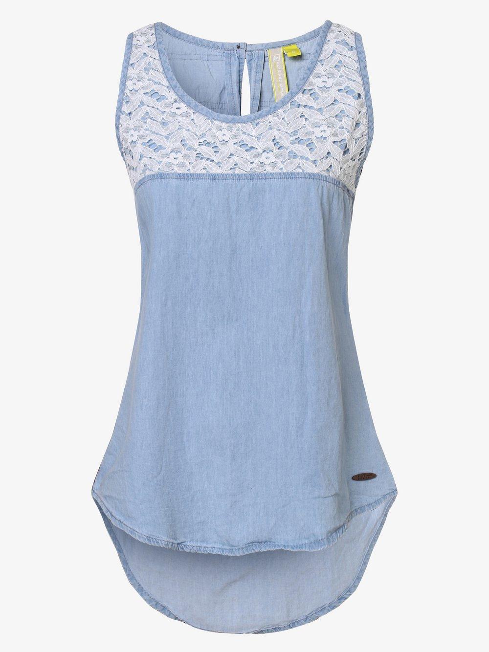alife and kickin – Top damski – Carla, niebieski Van Graaf 469872-0001-09990