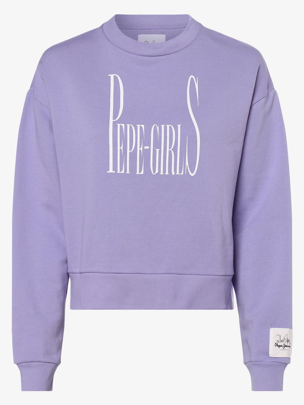 Pepe Jeans - Damska bluza nierozpinana – Grace, lila