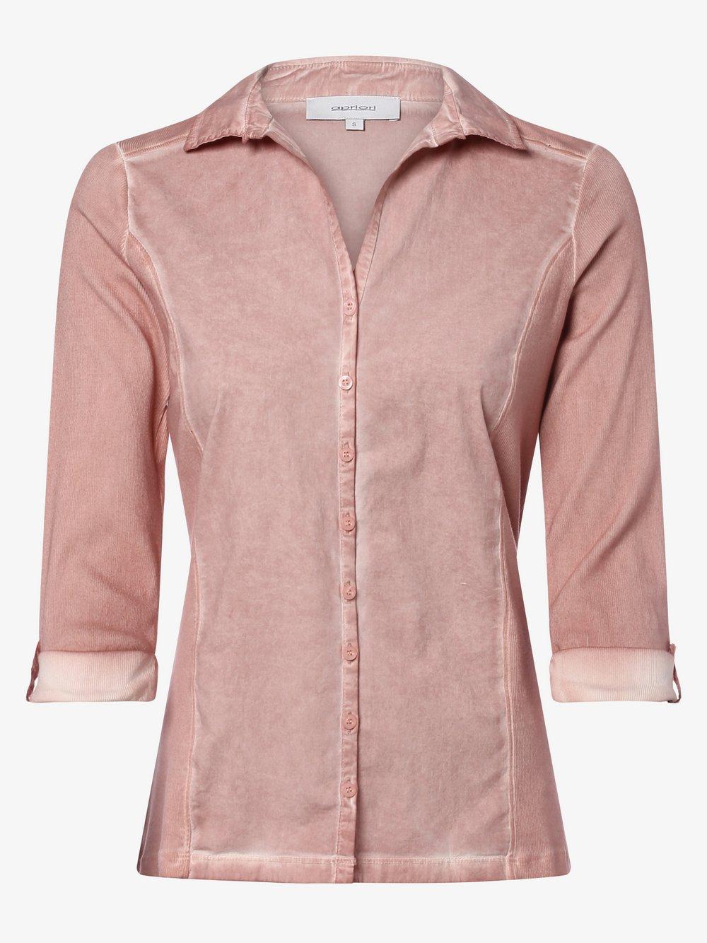 Apriori - Bluzka damska, różowy