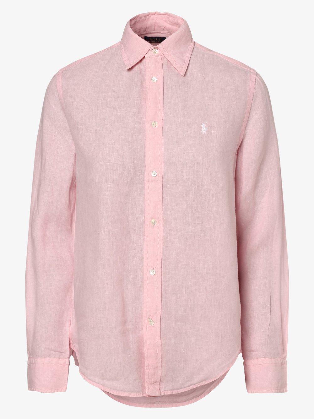 Polo Ralph Lauren - Bluzka damska – Relaxed Fit, różowy