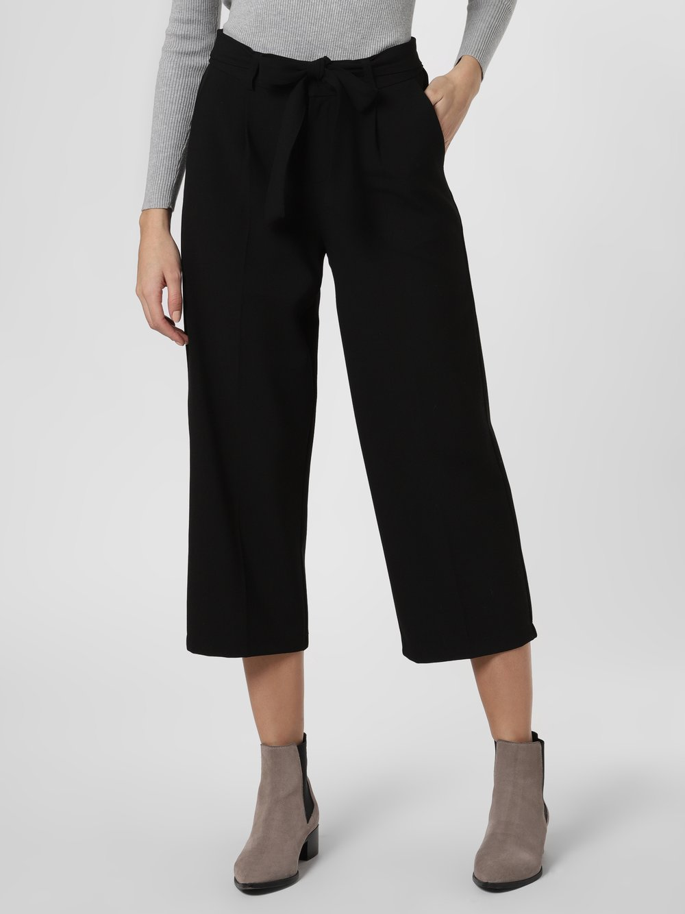 Marie Lund - Spodnie damskie, czarny