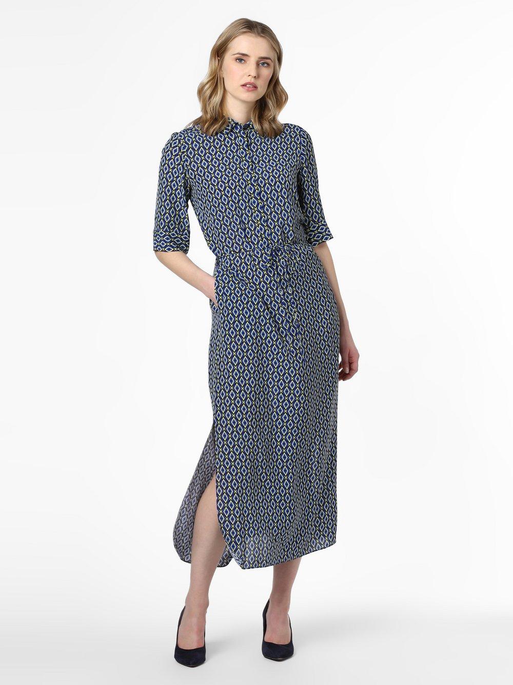 IPURI – Sukienka damska, niebieski Van Graaf 470207-0001-00400